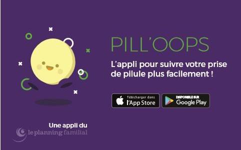 Pill'Oops : l'appli pour suivre votre prise de pilule plus facilement