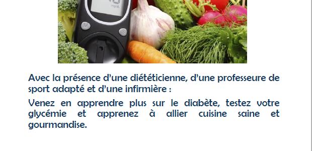 Pour en savoir plus sur le diabète – ateliers collectifs à Mistral