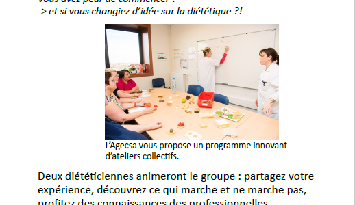 "Ateliers collectifs ""S'alimenter autrement"""