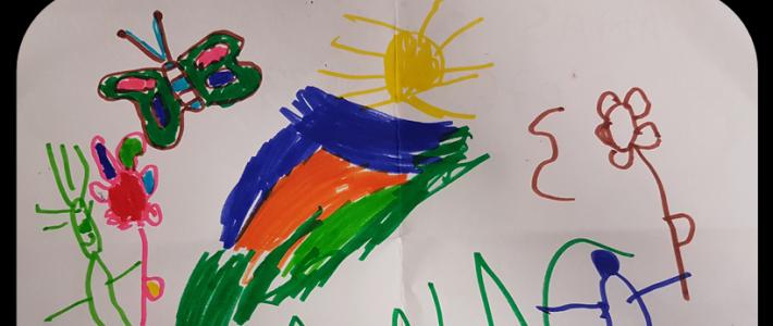 Résultat du concours de coloriage au centre Arlequin